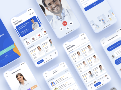 Online Appointment & Medical iOS App